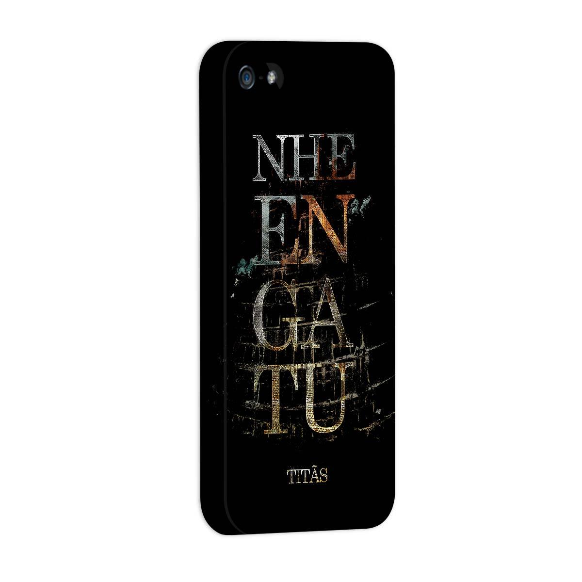 Capa Para iPhone 5/5S Titãs Nheengatu