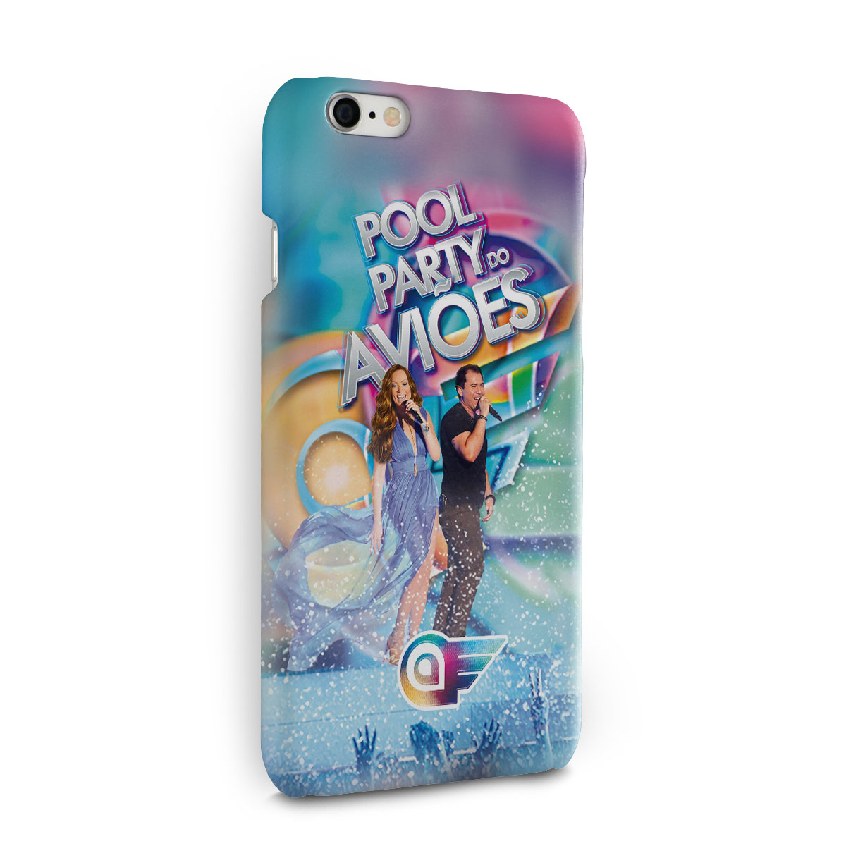 Capa para iPhone 6/6S Aviões do Forró Capa Pool Party