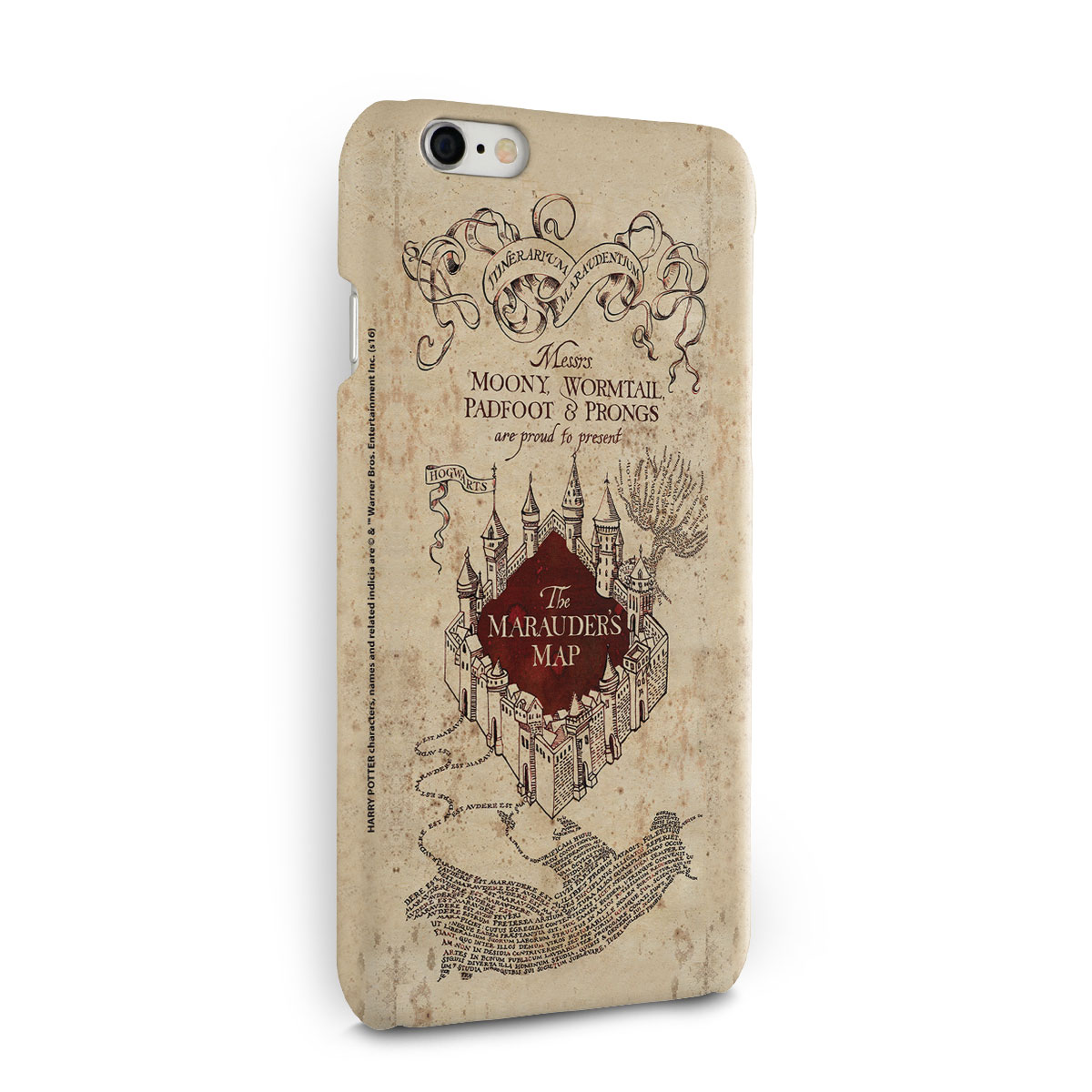 Capa para iPhone 6/6S Harry Potter The Marauder´s Map