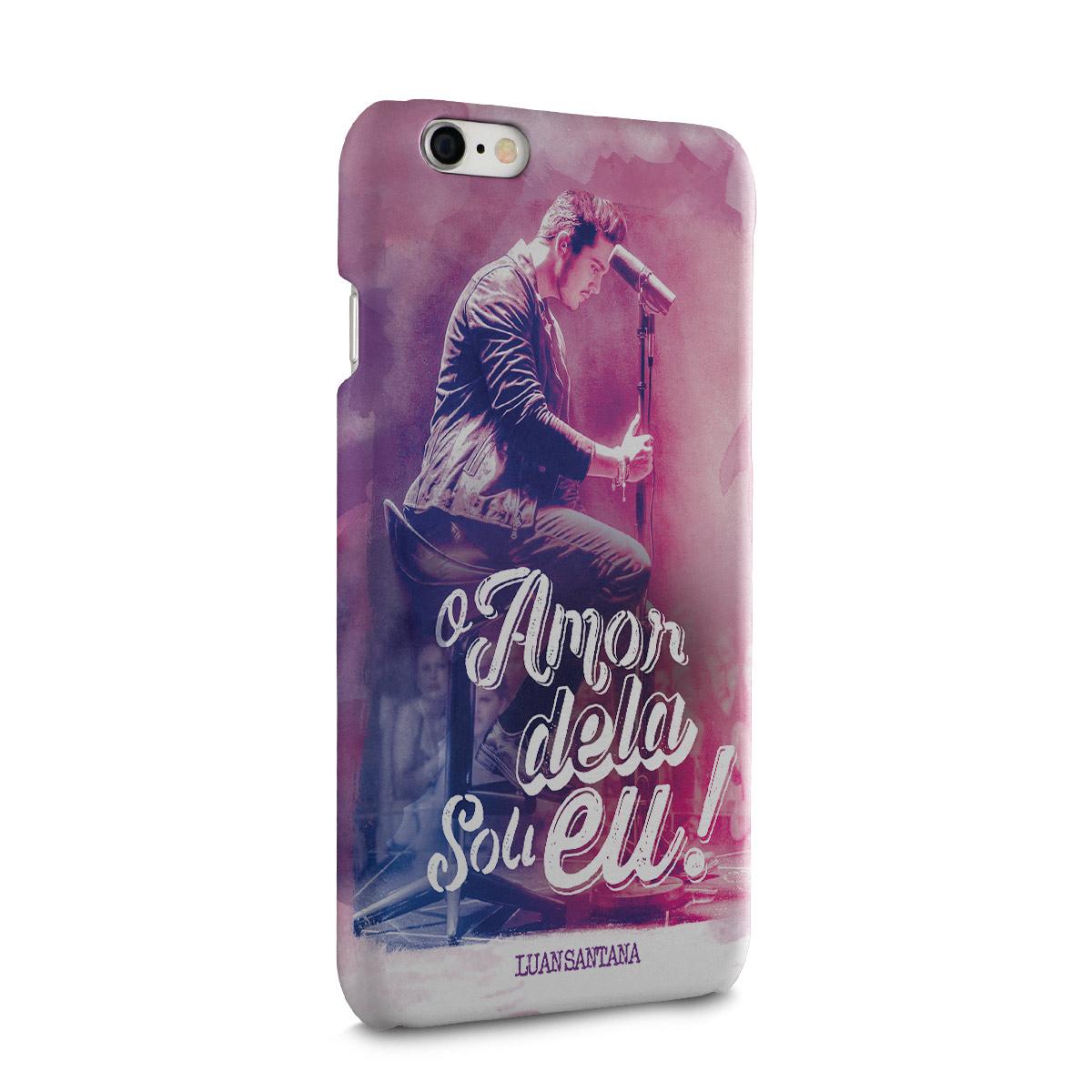 Capa para iPhone 6/6S Luan Santana O Amor Dela Sou Eu