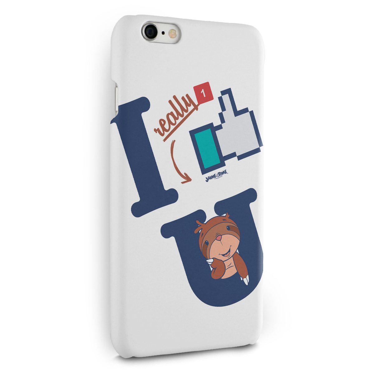 Capa para iPhone 6/6S Plus Jaime I Like You