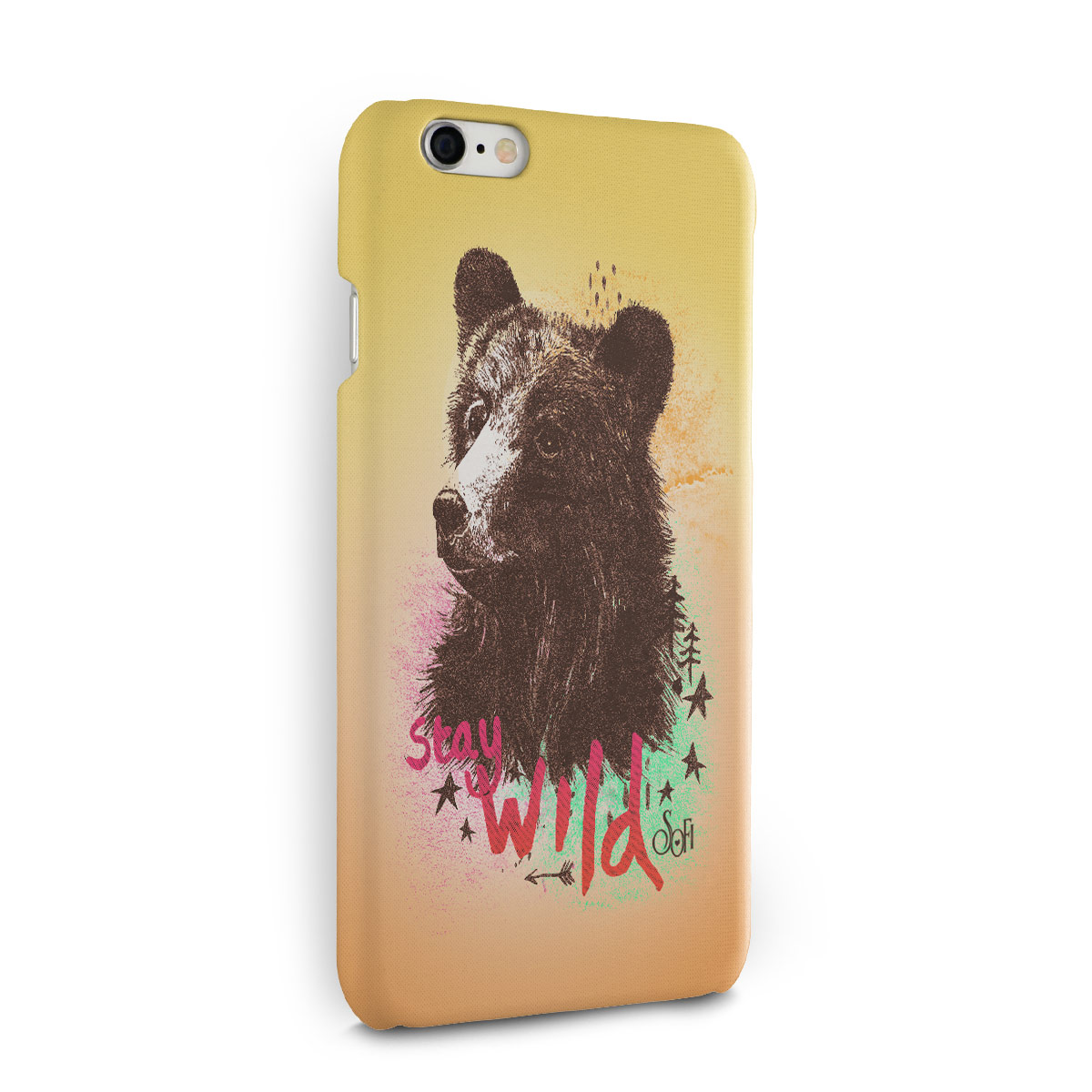 Capa para iPhone 6/6S Plus Sofia Oliveira Stay Wild