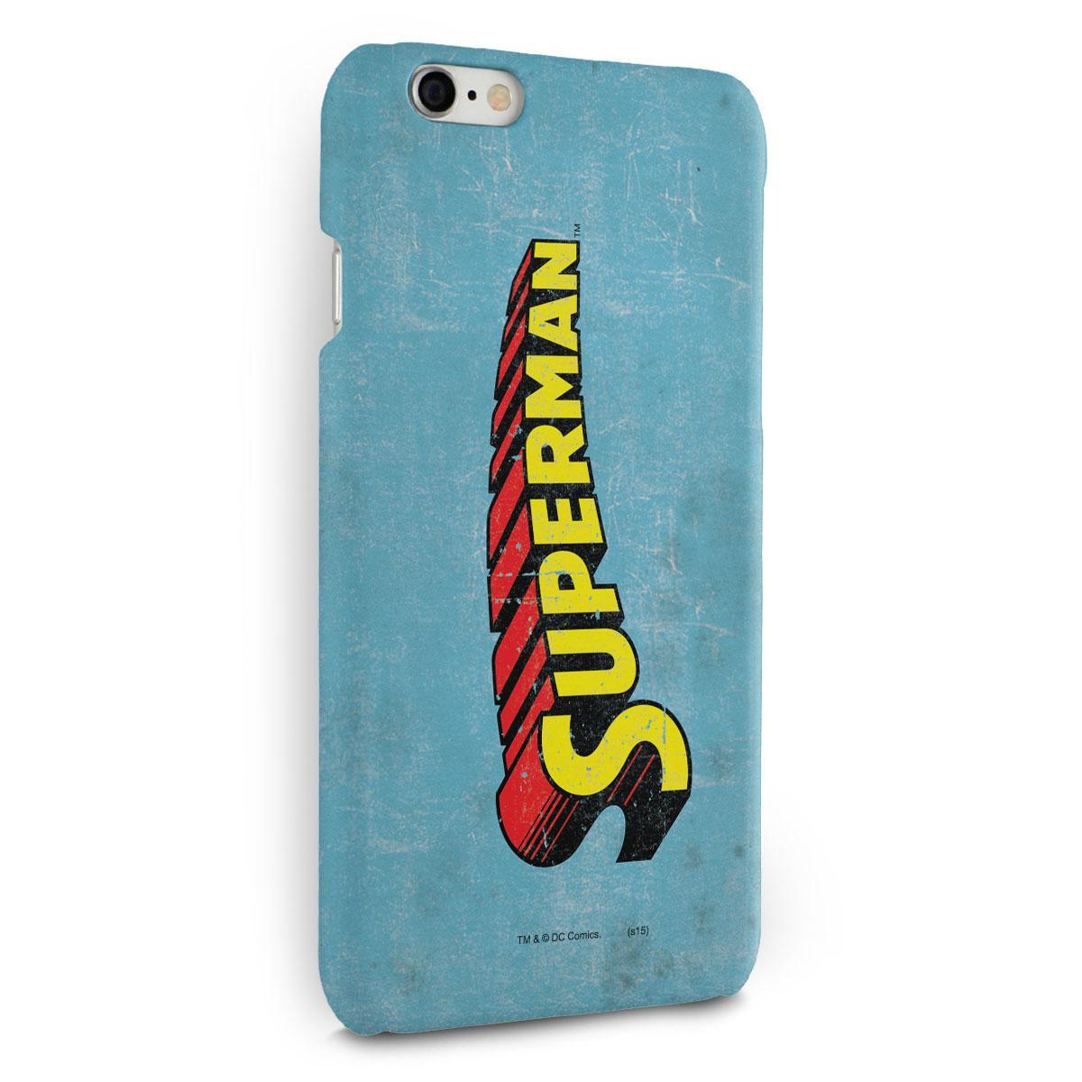 Capa para iPhone 6/6S Plus Superman Logo Clássico