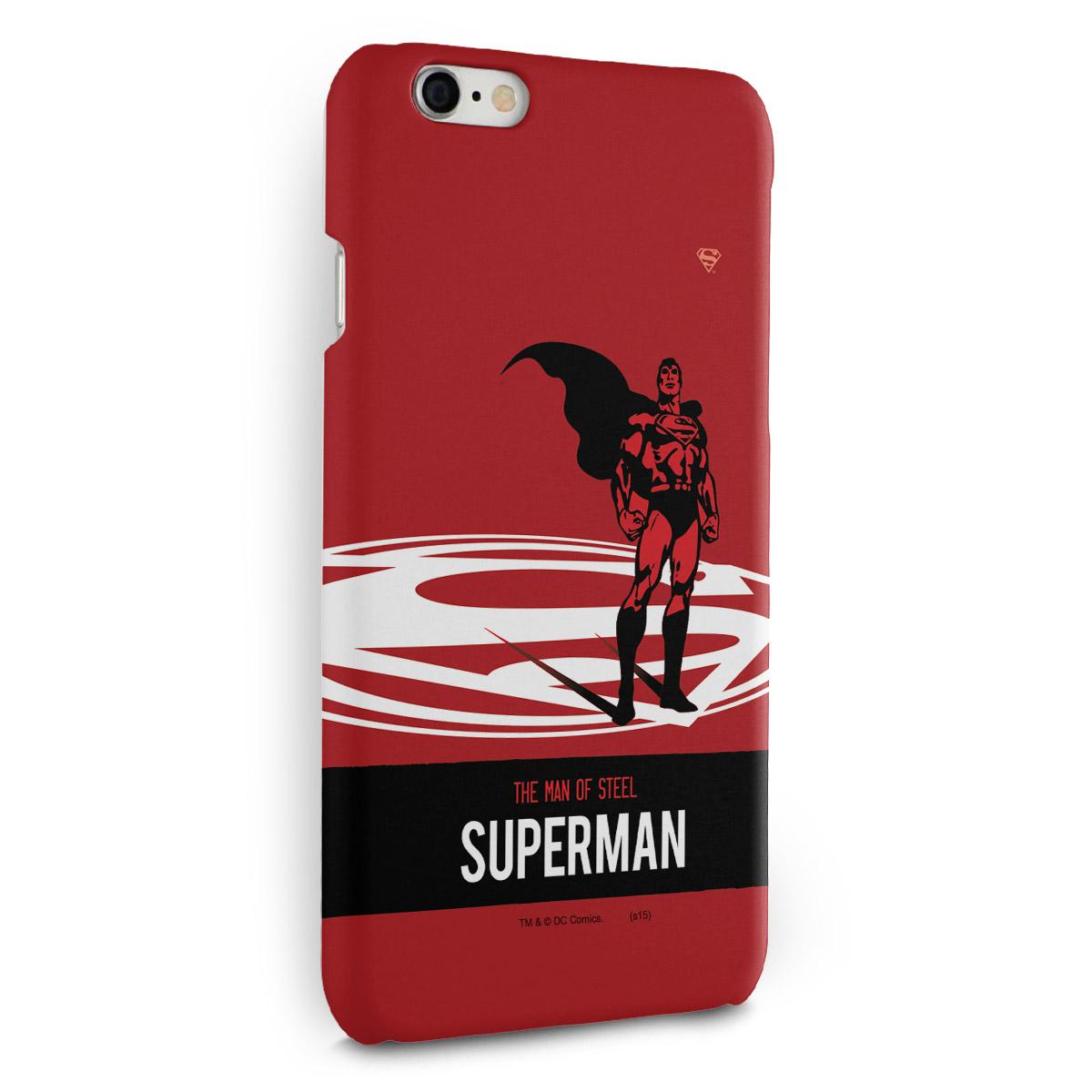 Capa para iPhone 6/6S Plus Superman The Man of Steel
