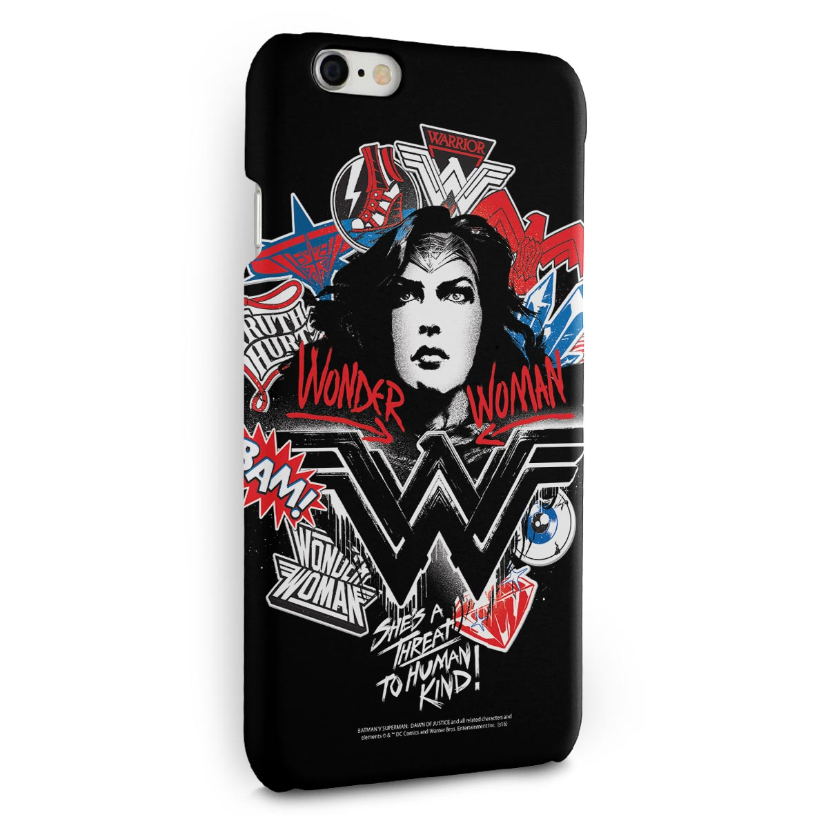Capa para iPhone 6/6S Plus Wonder Woman She´s a Threat