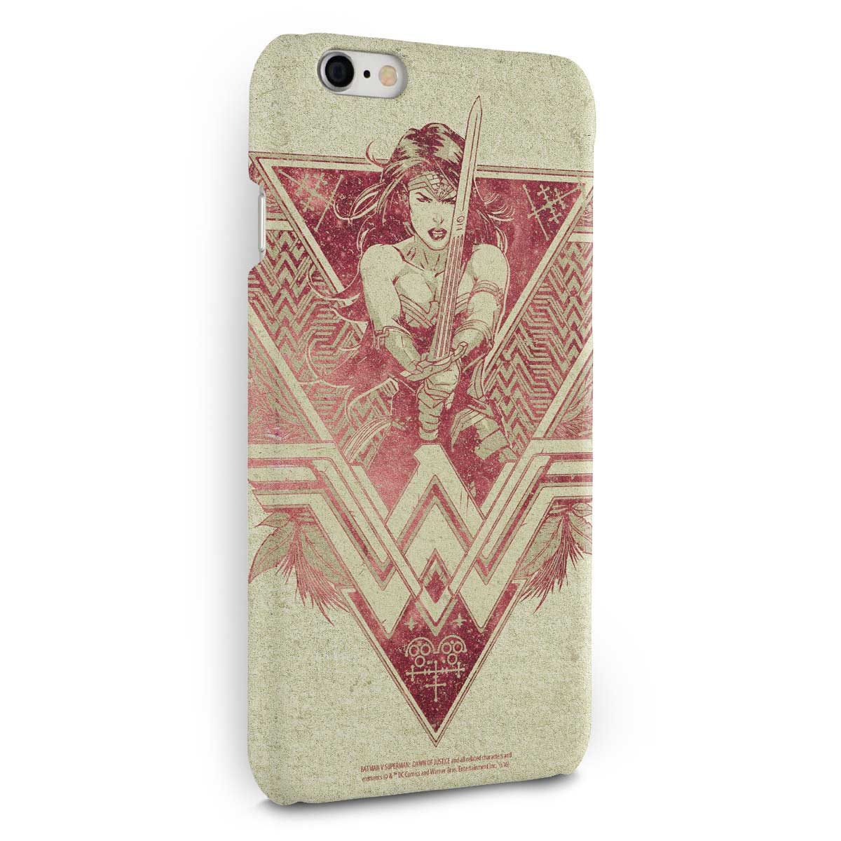 Capa para iPhone 6/6S Plus Wonder Woman Warrior
