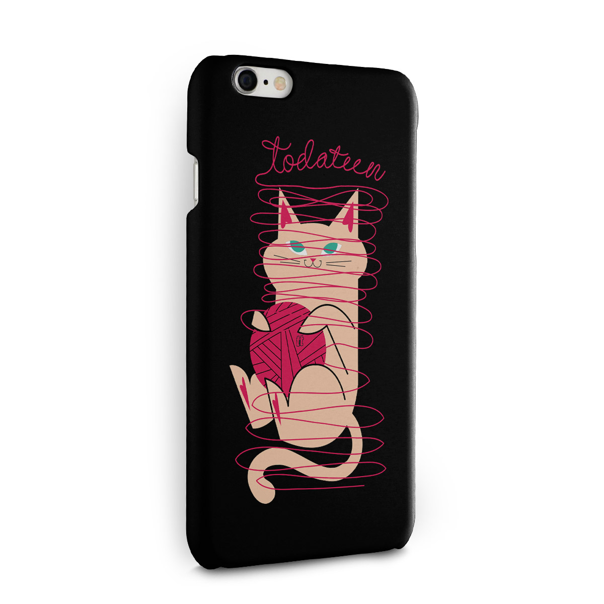 Capa para iPhone 6/6S TodaTeen Cat
