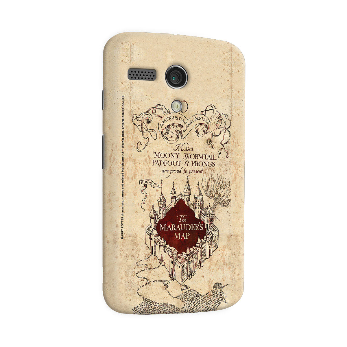Capa para Motorola Moto G 1 Harry Potter The Marauder´s Map