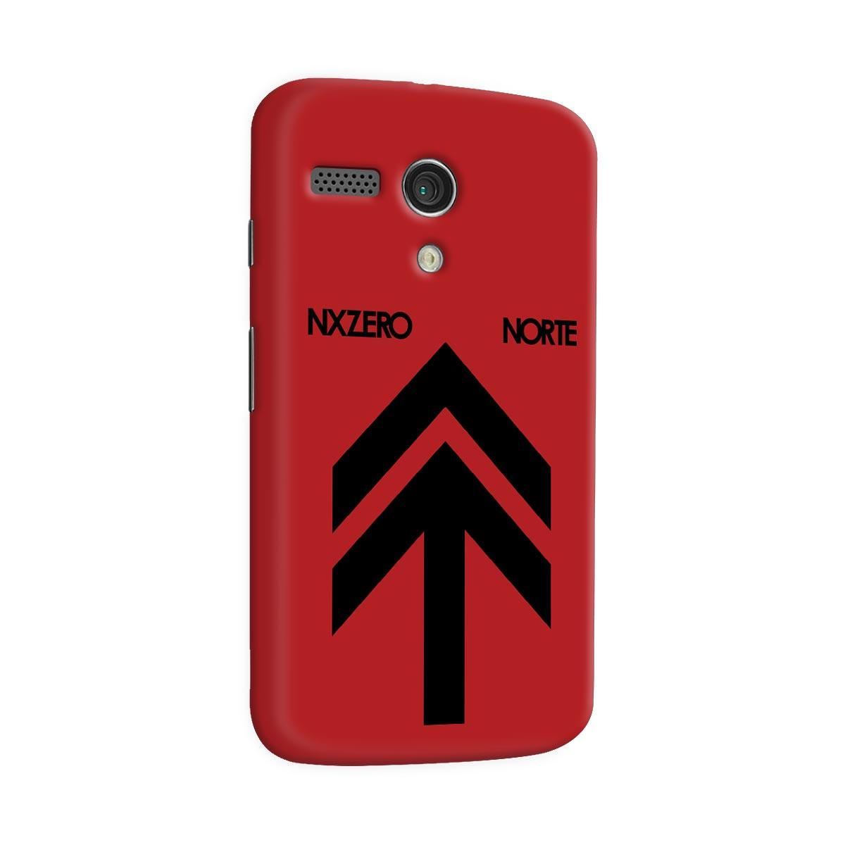 Capa para Motorola Moto G1 NXZero Capa Norte