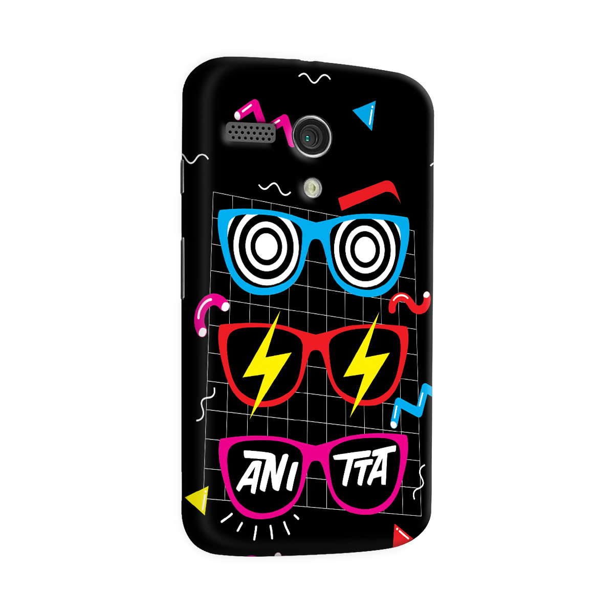 Capa para Motorola Moto G 1 Anitta Glasses