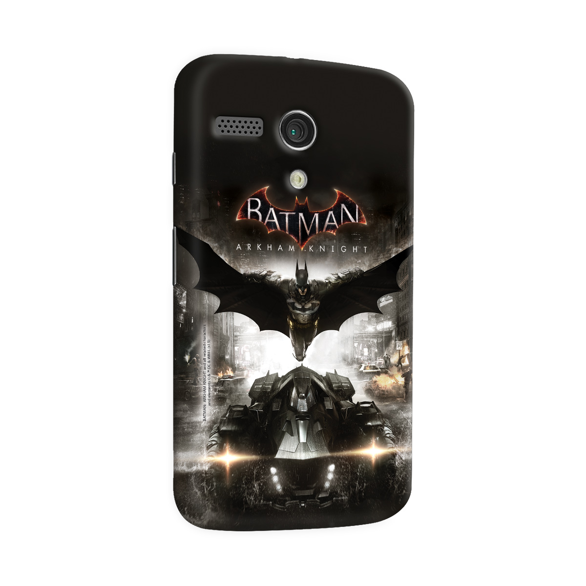 Capa para Motorola Moto G 1 Batman Arkham Knight Action