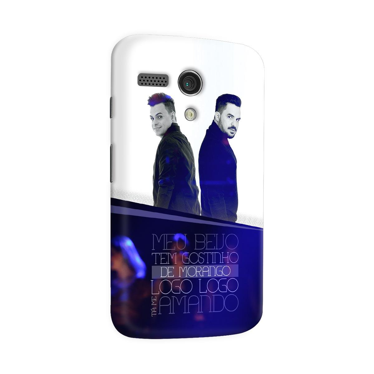 Capa para Motorola Moto G 1 Carlos & Jader Meu Beijo