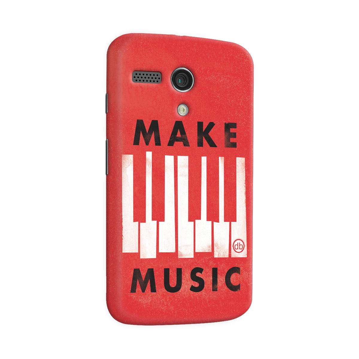 Capa para Motorola Moto G 1 Dudu Borges Make Music