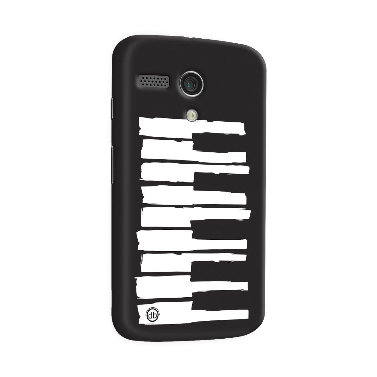 Capa para Motorola Moto G 1 Dudu Borges Musical Keyboard