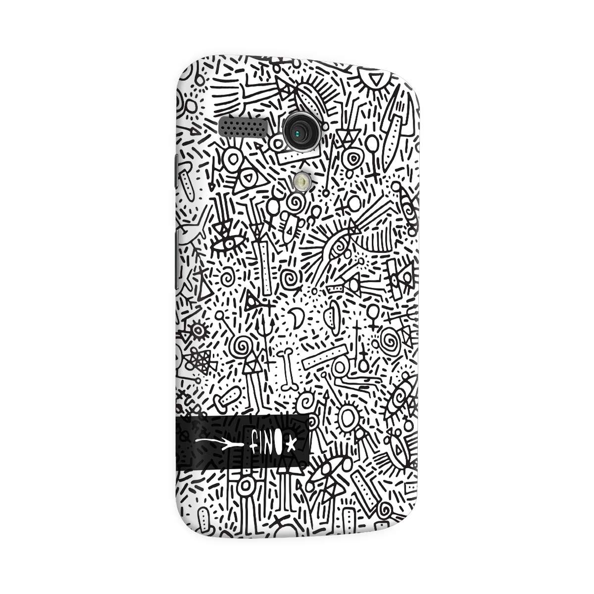 Capa para Motorola Moto G 1 Fino Farofa de Religião
