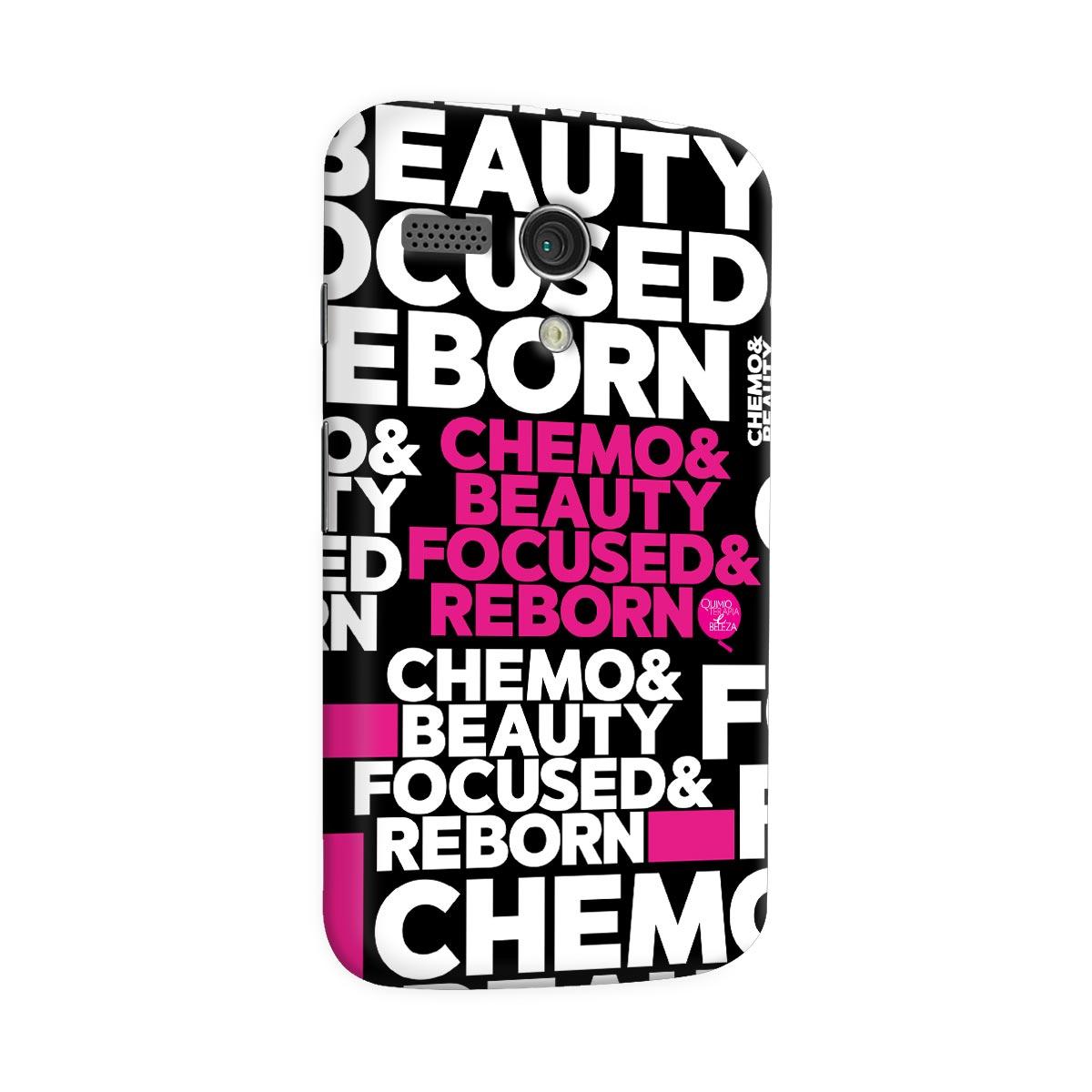 Capa para Motorola Moto G 1 QeB Chemo & Beauty