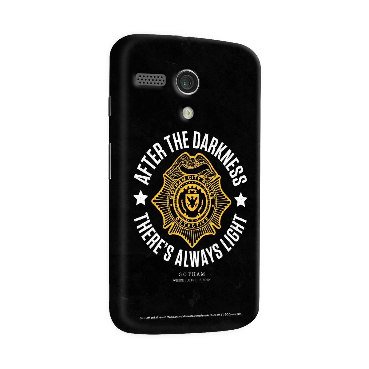 Capa para Motorola Moto G  1 Gotham There´s Always Light