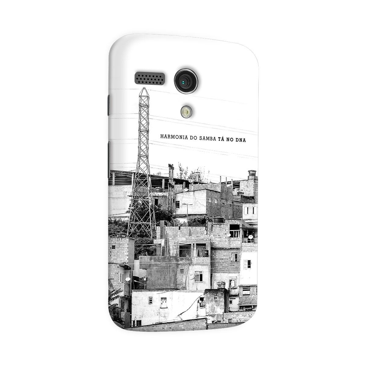 Capa para Motorola Moto G 1 Harmonia do Samba Tá no DNA