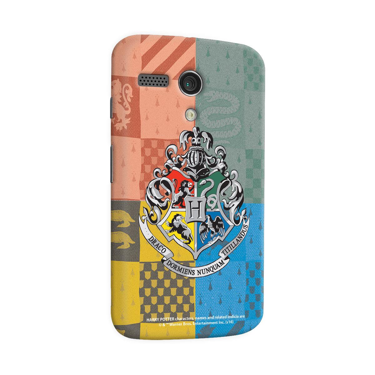 Capa para Motorola Moto G 1 Harry Potter Flâmulas