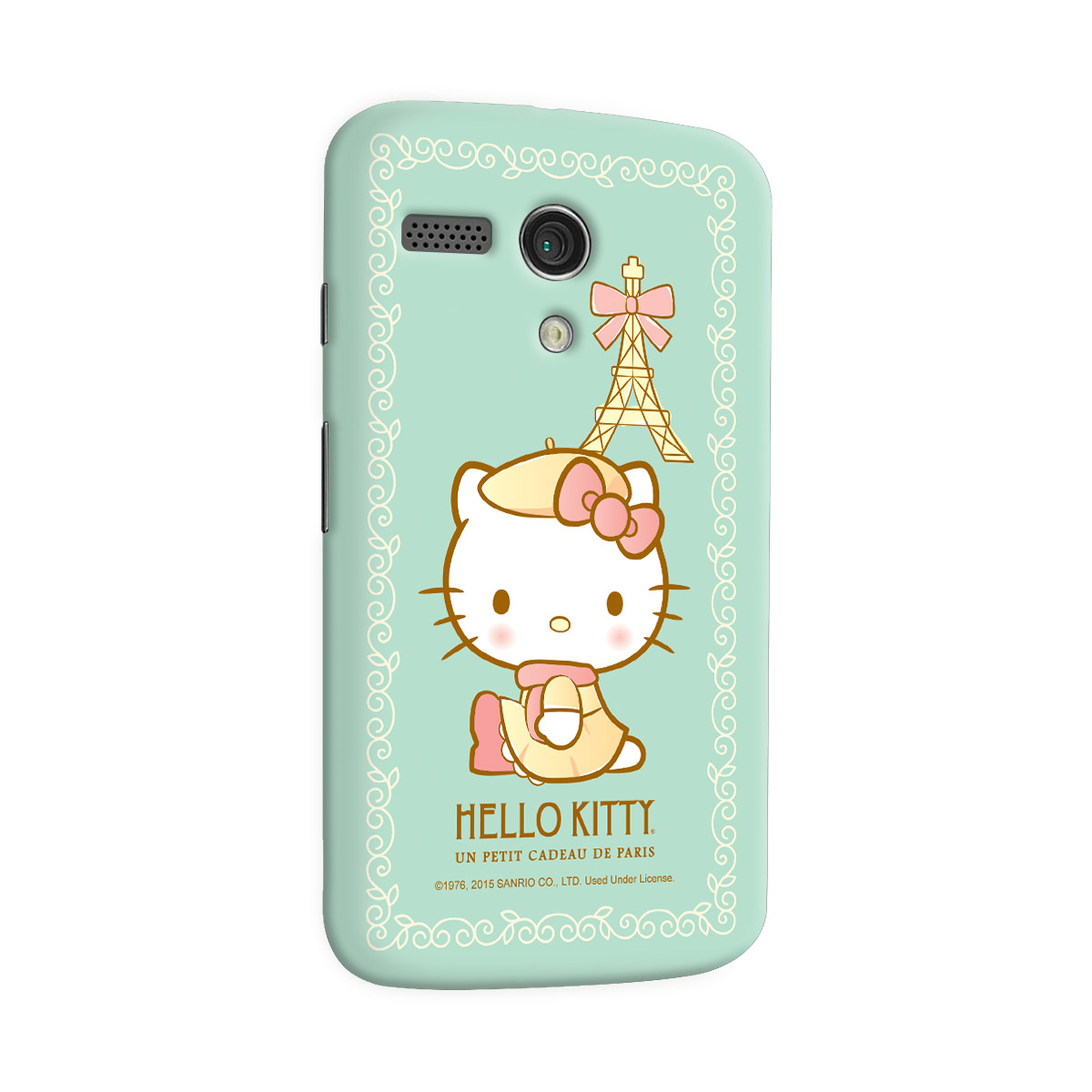 Capa para Motorola Moto G 1 Hello Kitty Un Petit Cadeau