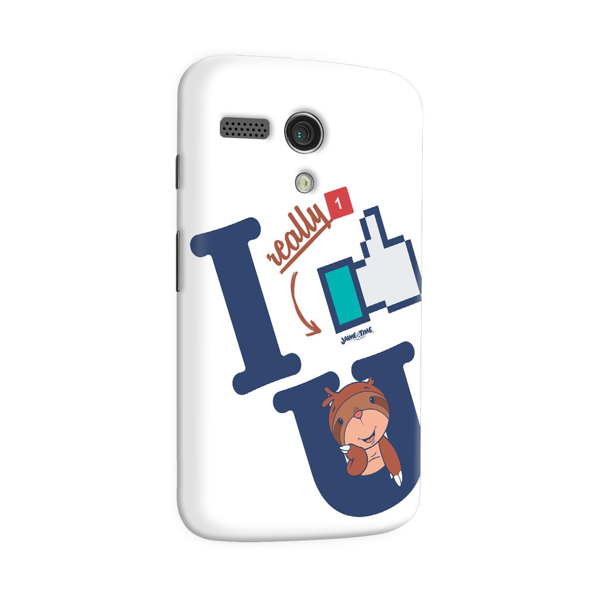 Capa para Motorola Moto G 1 Jaime I Like You