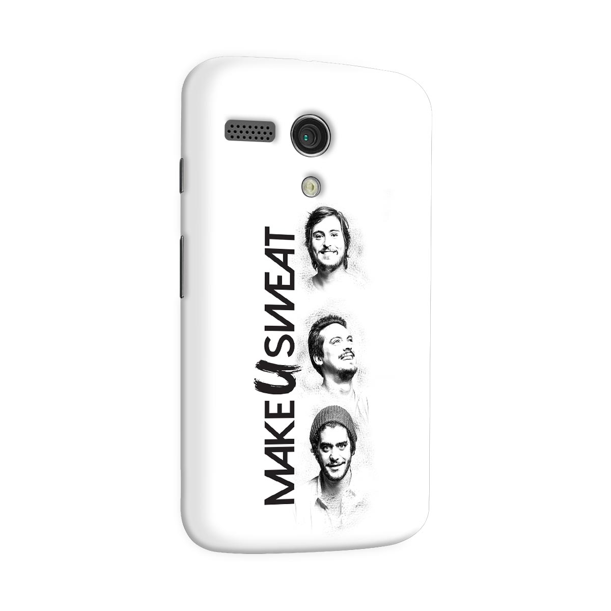 Capa para Motorola Moto G 1 Make U Sweat Trio