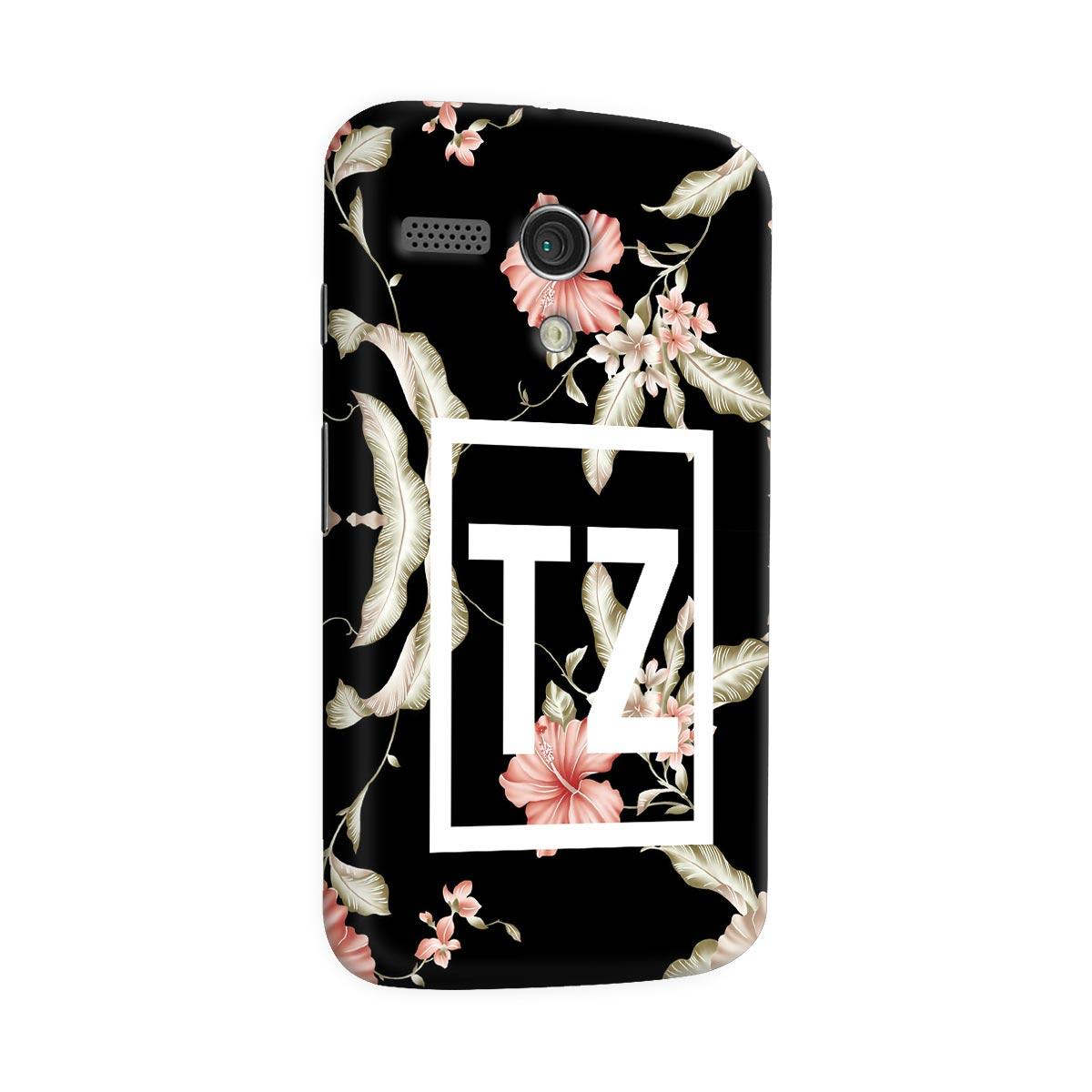 Capa para Motorola Moto G 1 MC Tati Zaqui Flowers