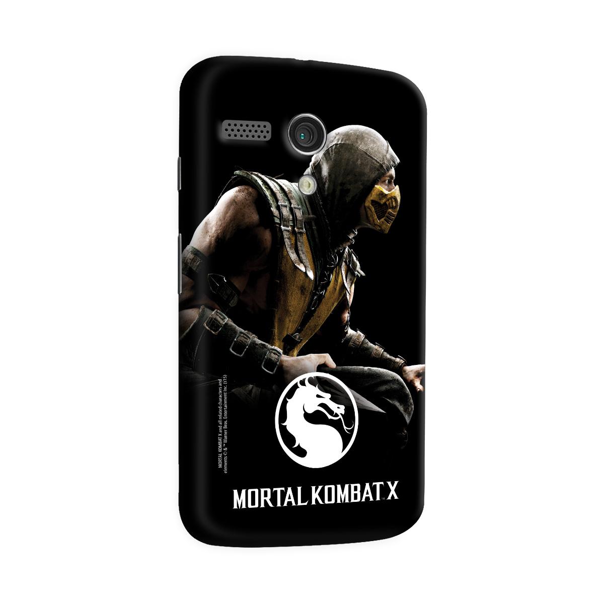 Capa para Motorola Moto G 1 Mortal Kombat X Capa