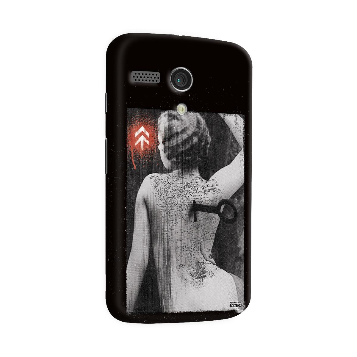 Capa para Motorola Moto G 1 NXZero Personal Prive