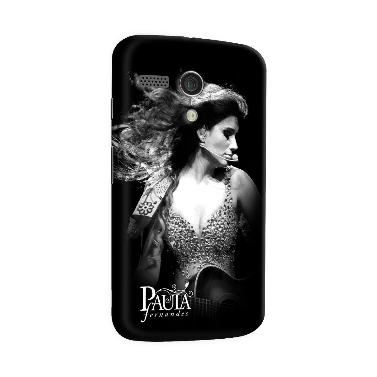 Capa para Motorola Moto G 1 Paula Fernandes Foto
