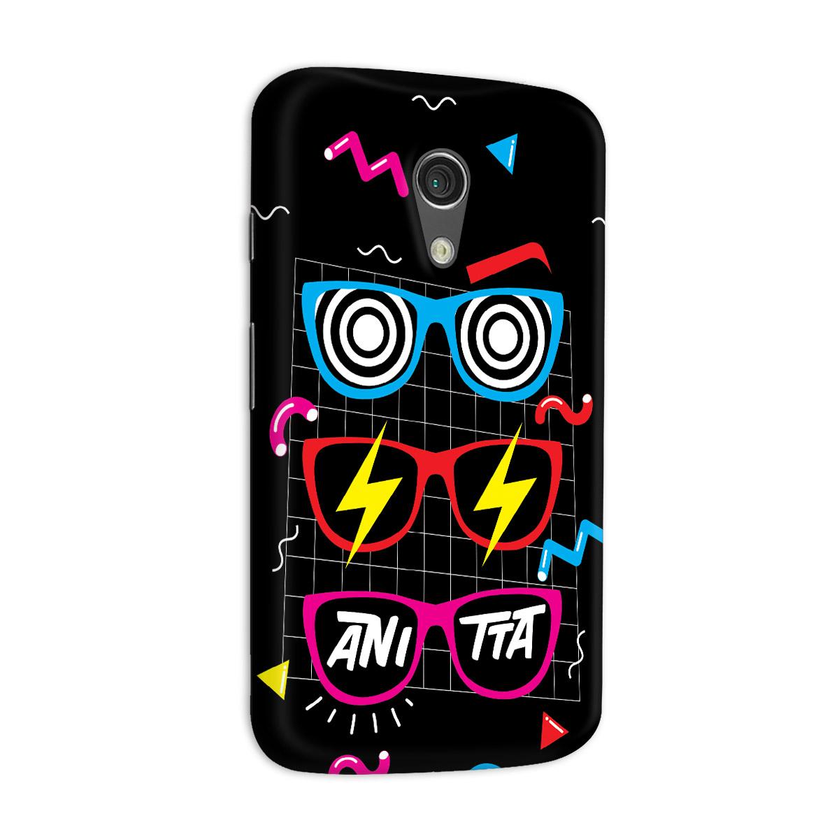 Capa para Motorola Moto G 2 Anitta Glasses