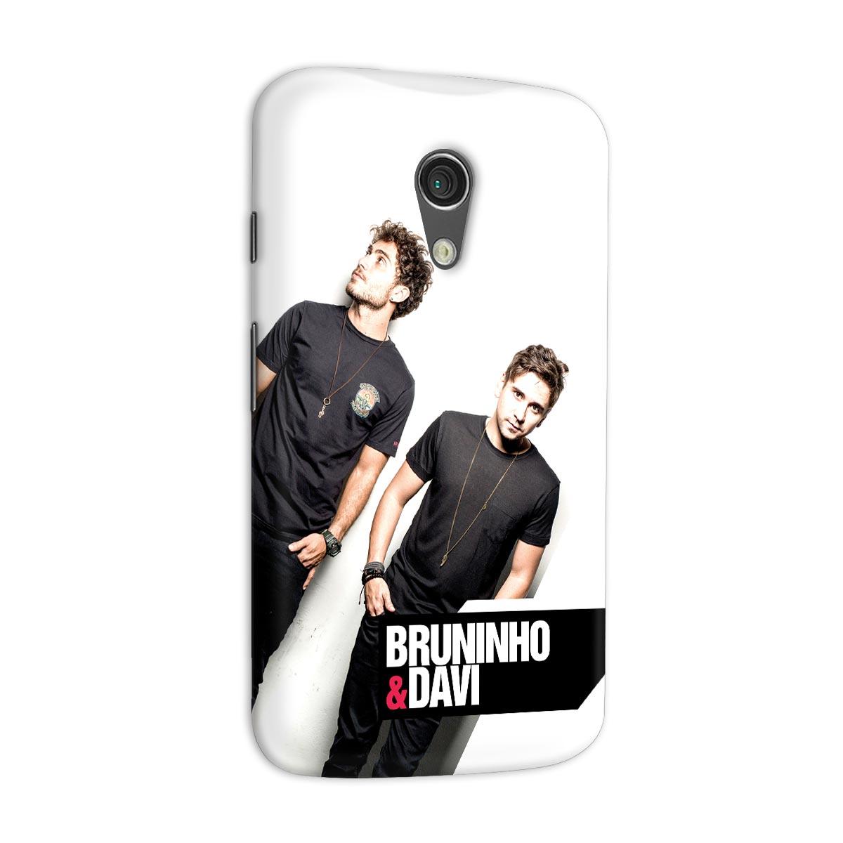 Capa para Motorola Moto G 2 Bruninho & Davi Foto