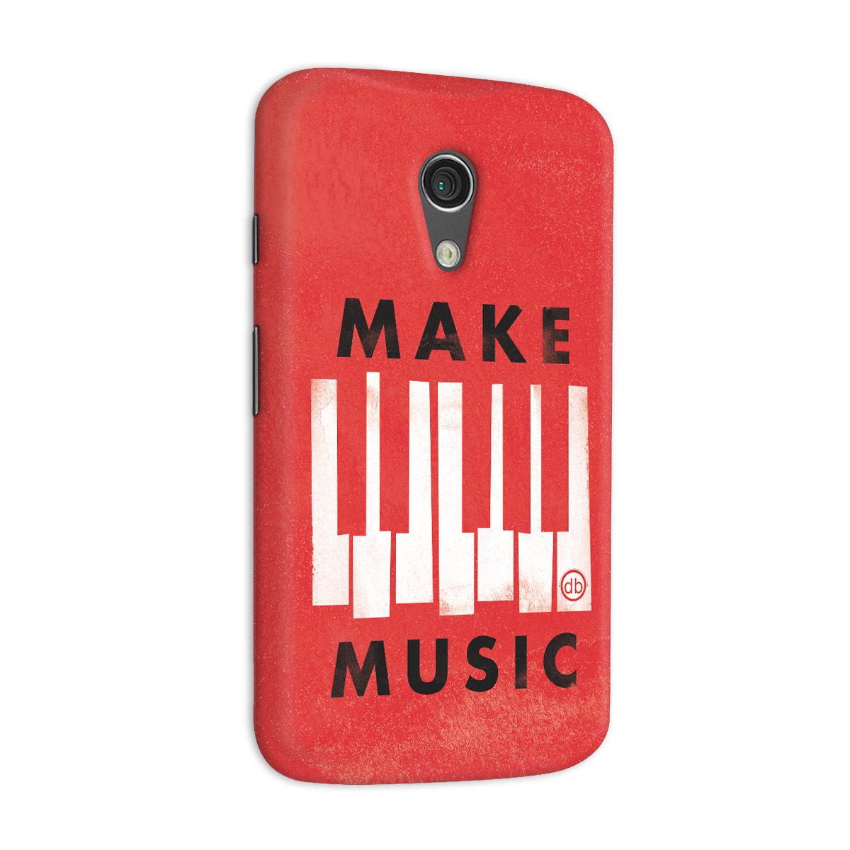 Capa para Motorola Moto G 2 Dudu Borges Make Music