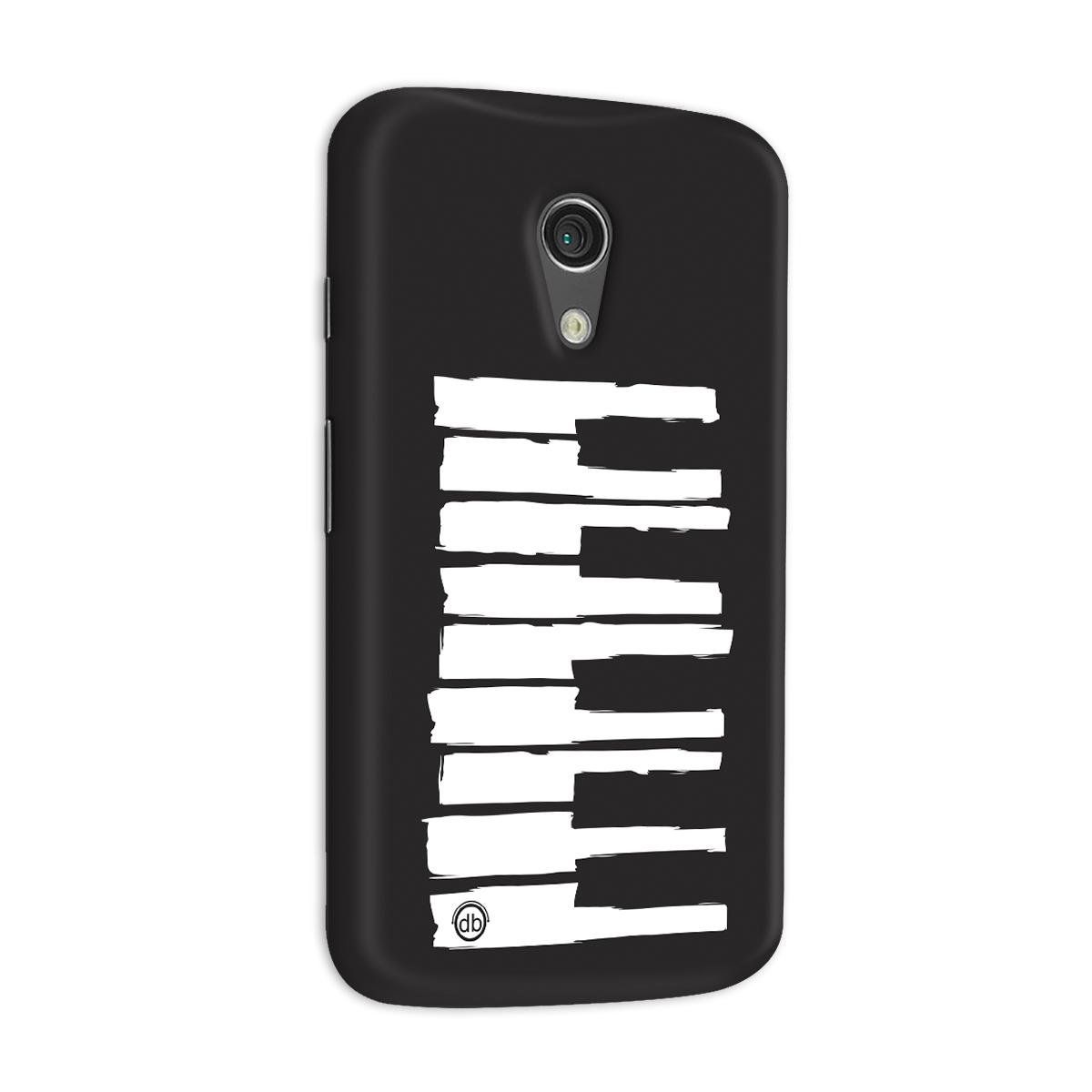 Capa para Motorola Moto G 2 Dudu Borges Musical Keyboard
