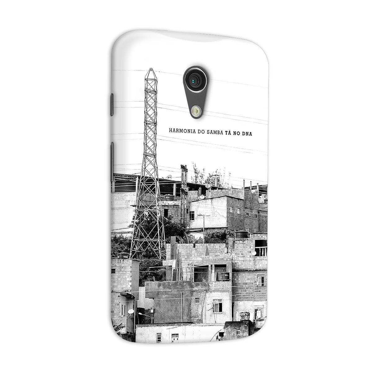 Capa para Motorola Moto G 2 Harmonia do Samba Tá no DNA