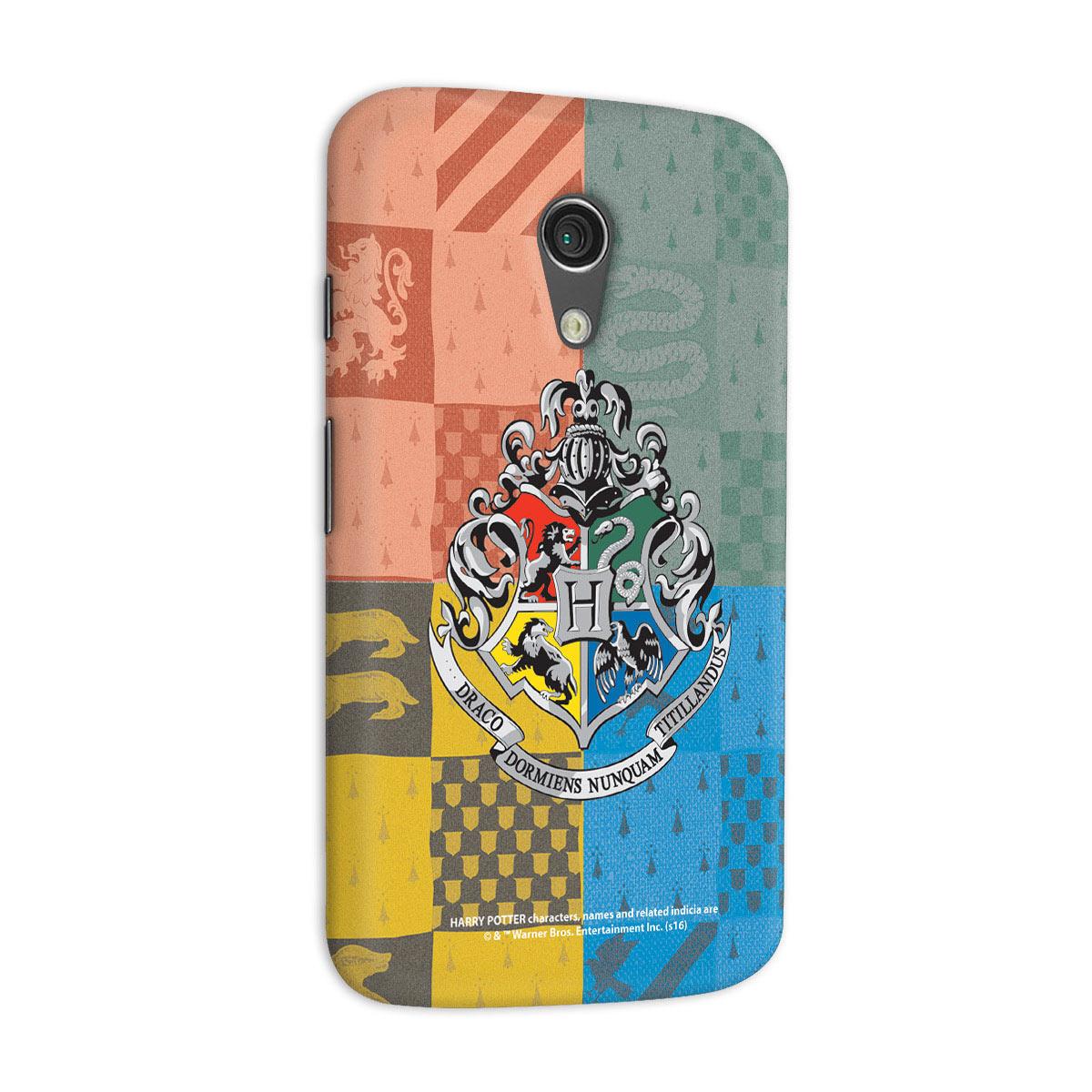 Capa para Motorola Moto G 2 Harry Potter Flâmulas
