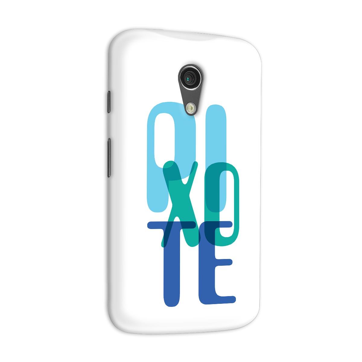 Capa para Motorola Moto G 2 Pixote Blue