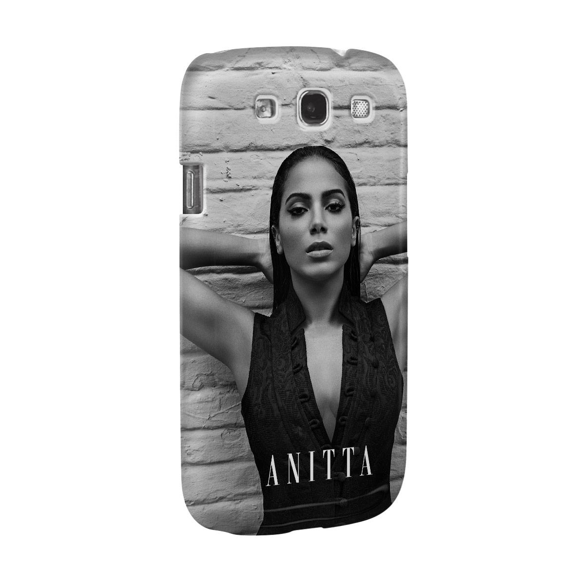 Capa para Samsung Galaxy S3 Anitta P&B