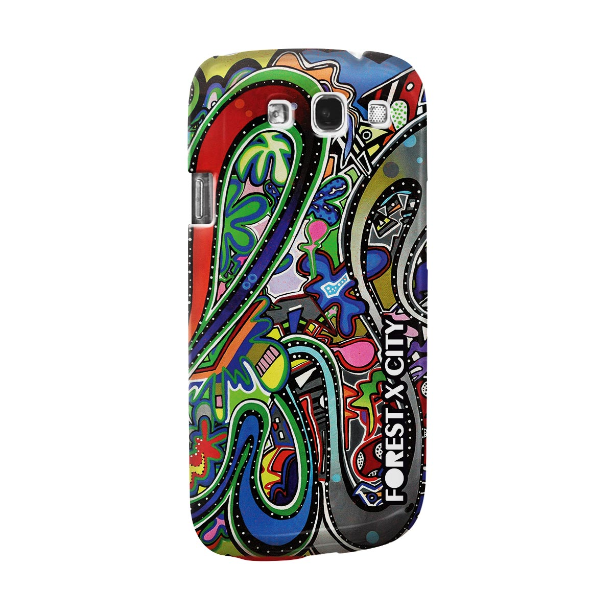 Capa para Samsung Galaxy S3 Bruna Forest x City