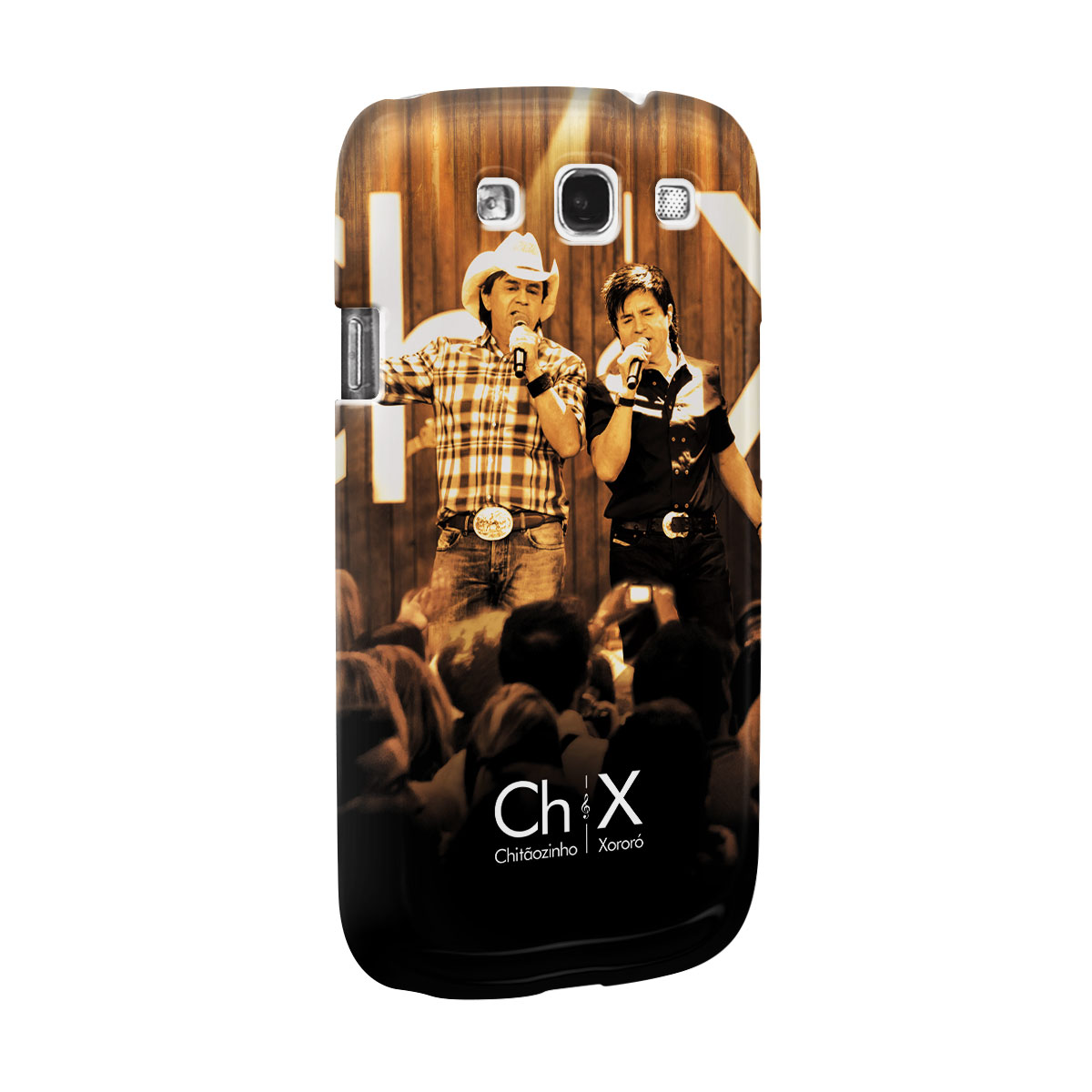Capa para Samsung Galaxy S3 Chitãozinho & Xororó Show