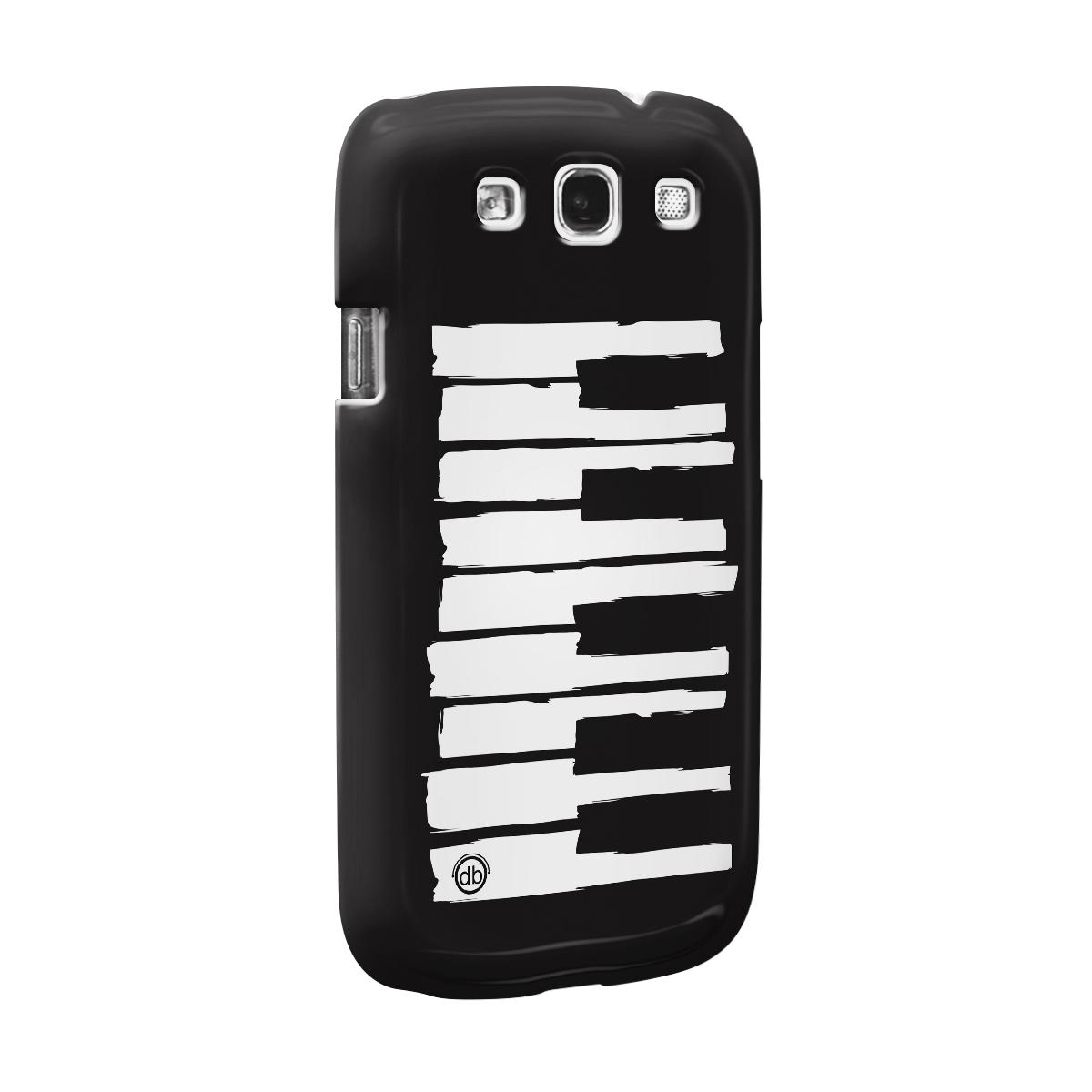 Capa para Samsung Galaxy S3 Dudu Borges Musical Keyboard