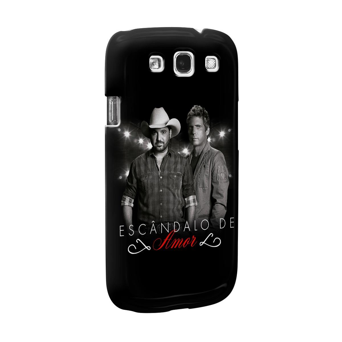 Capa para Samsung Galaxy S3 Edson & Hudson Escândalo de Amor Foto