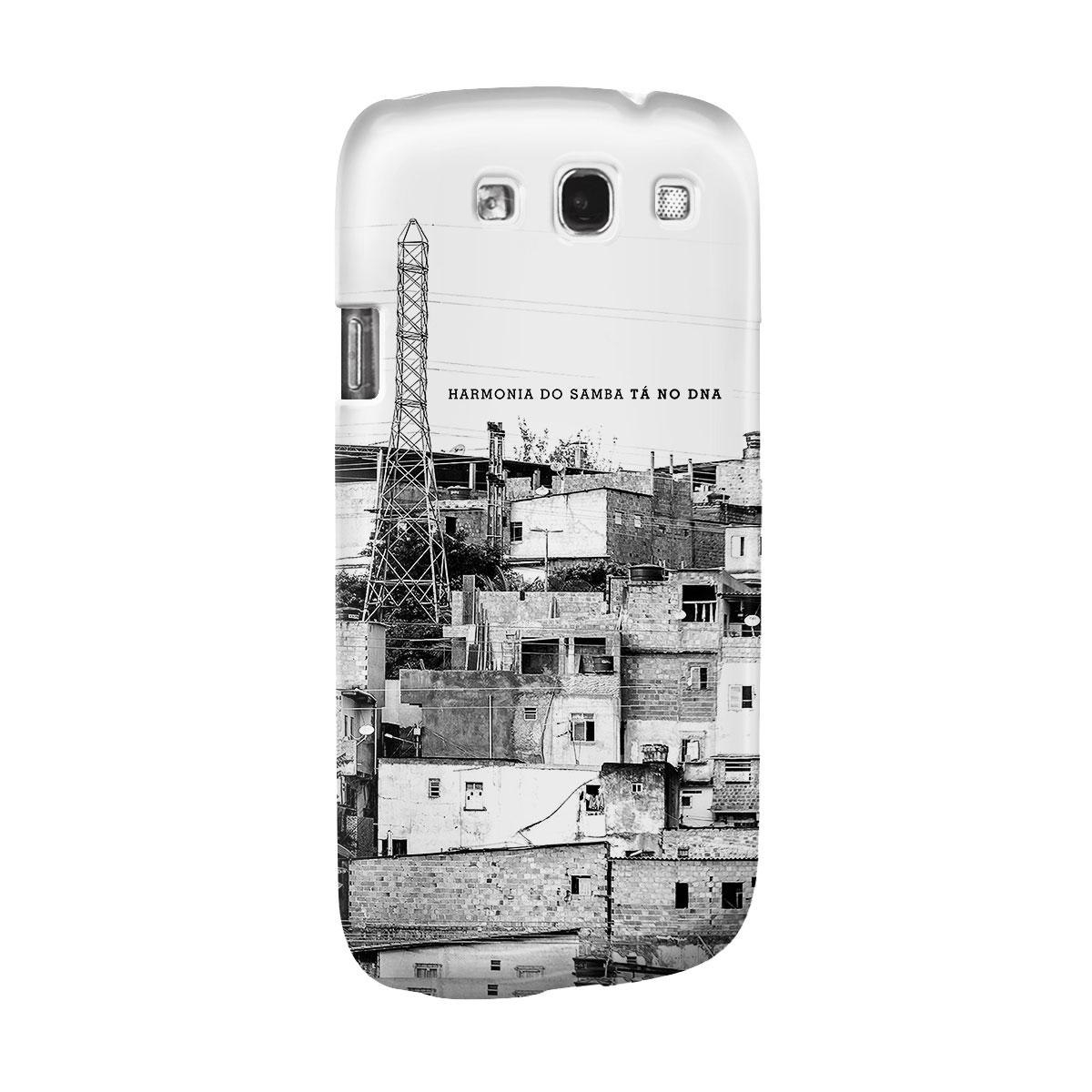 Capa para Samsung Galaxy S3 Harmonia do Samba Tá no DNA