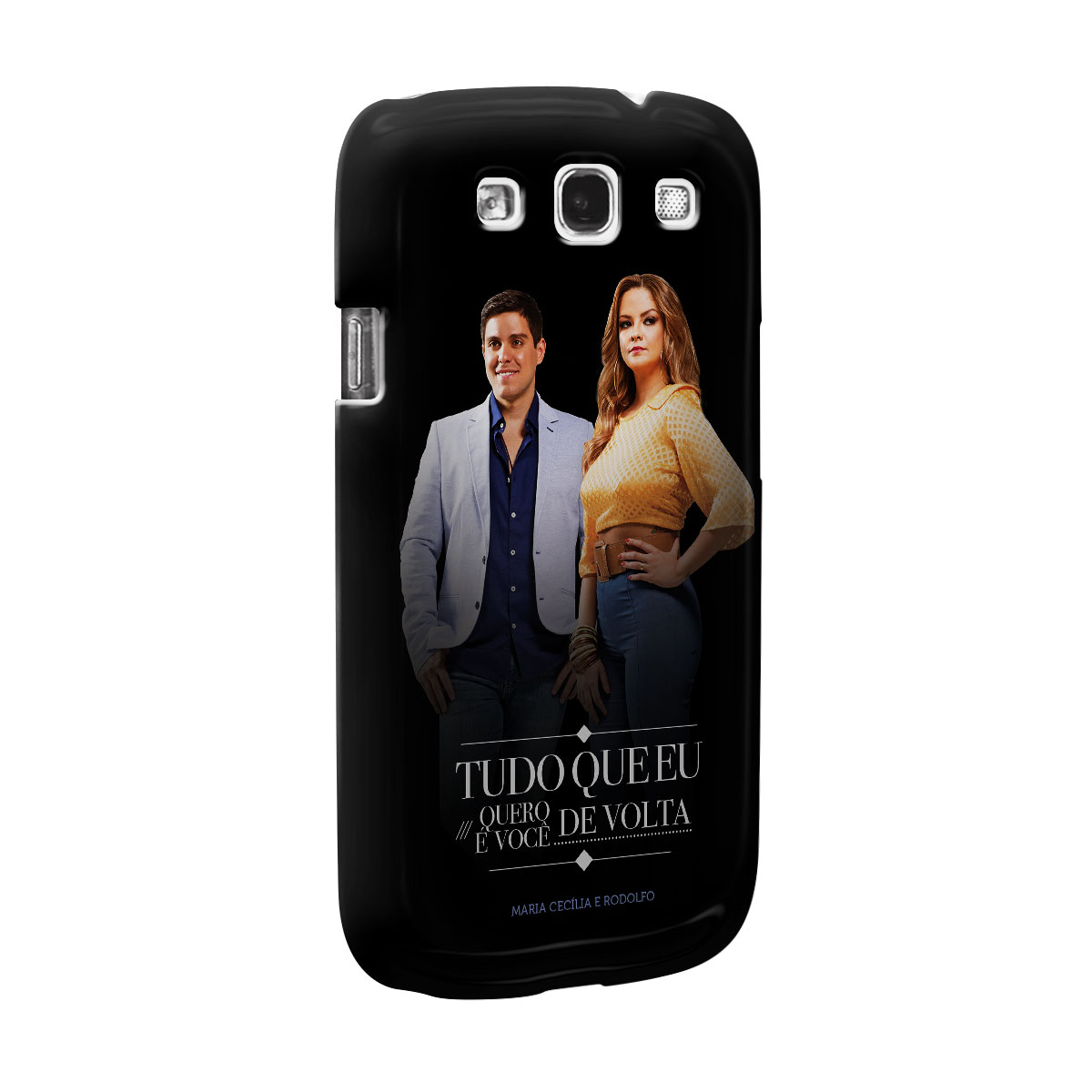 Capa para Samsung Galaxy S3 Maria Cecília & Rodolfo Tudo Que Eu Quero