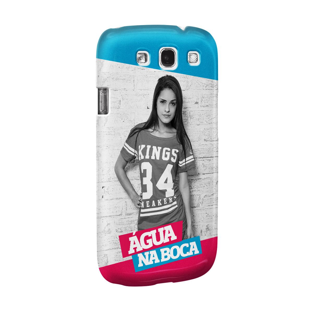 Capa para Samsung Galaxy S3 MC Tati Zaqui Água na Boca