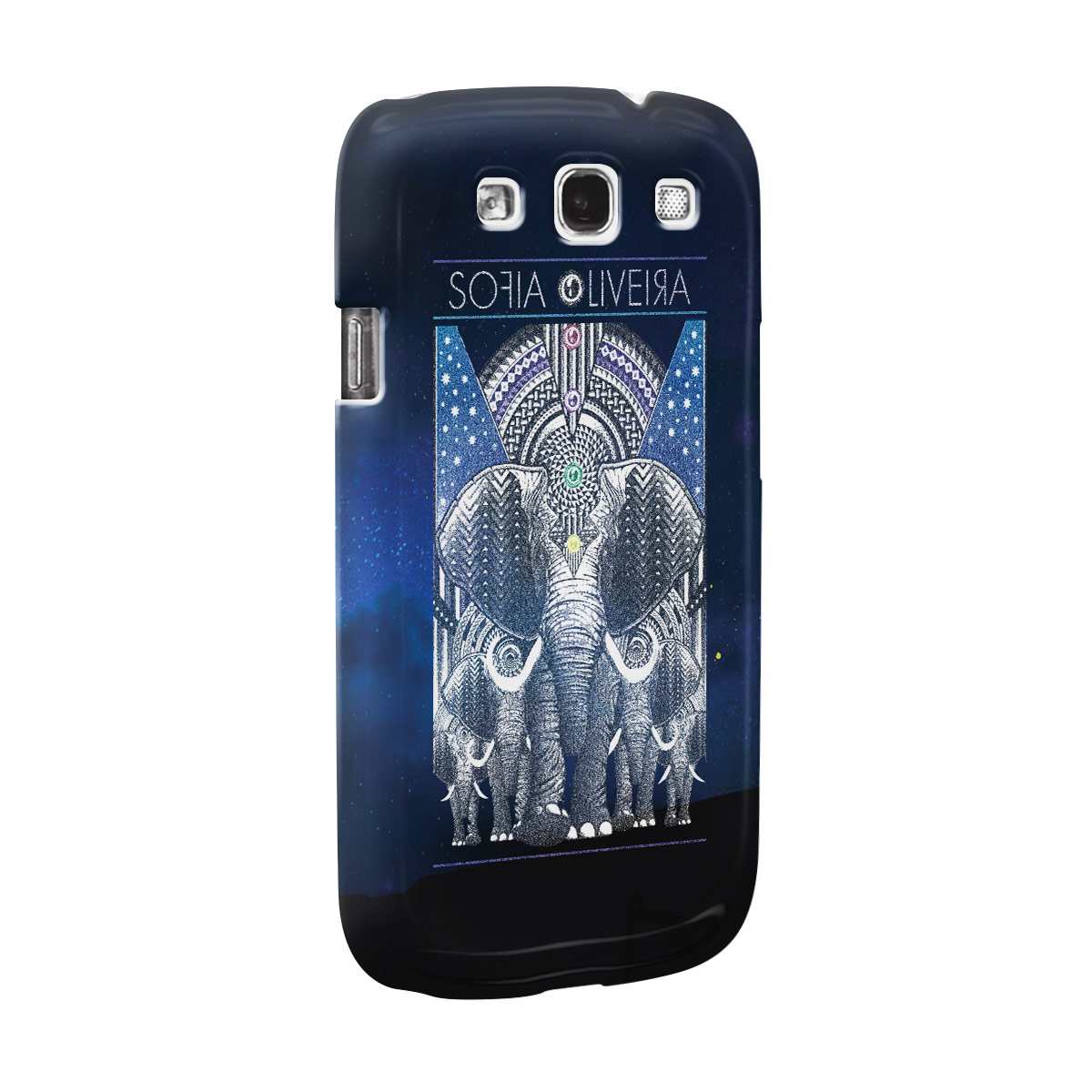 Capa para Samsung Galaxy S3 Sofia Oliveira Elephant