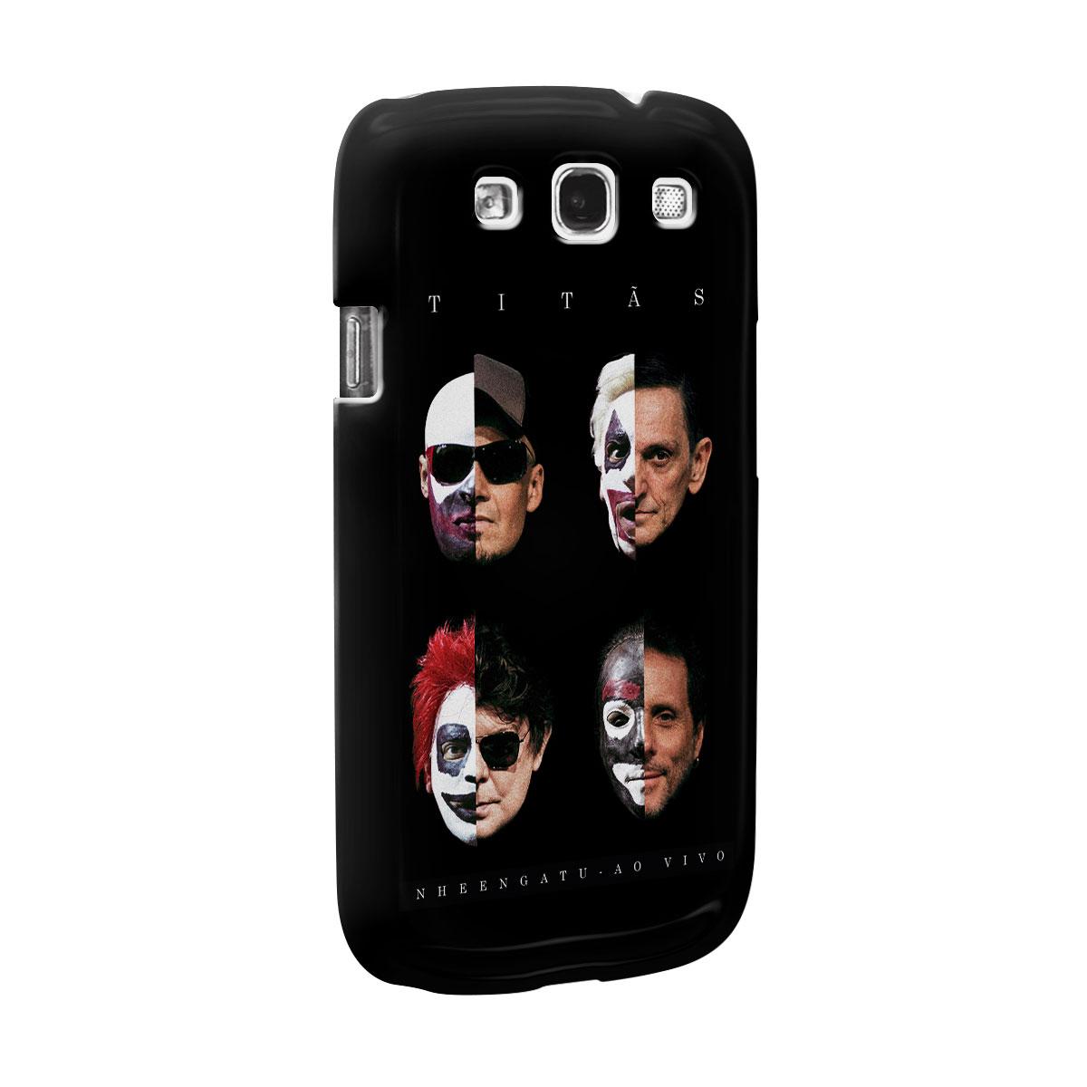 Capa para Samsung Galaxy S3 Titãs Capa Nheengatu Ao Vivo