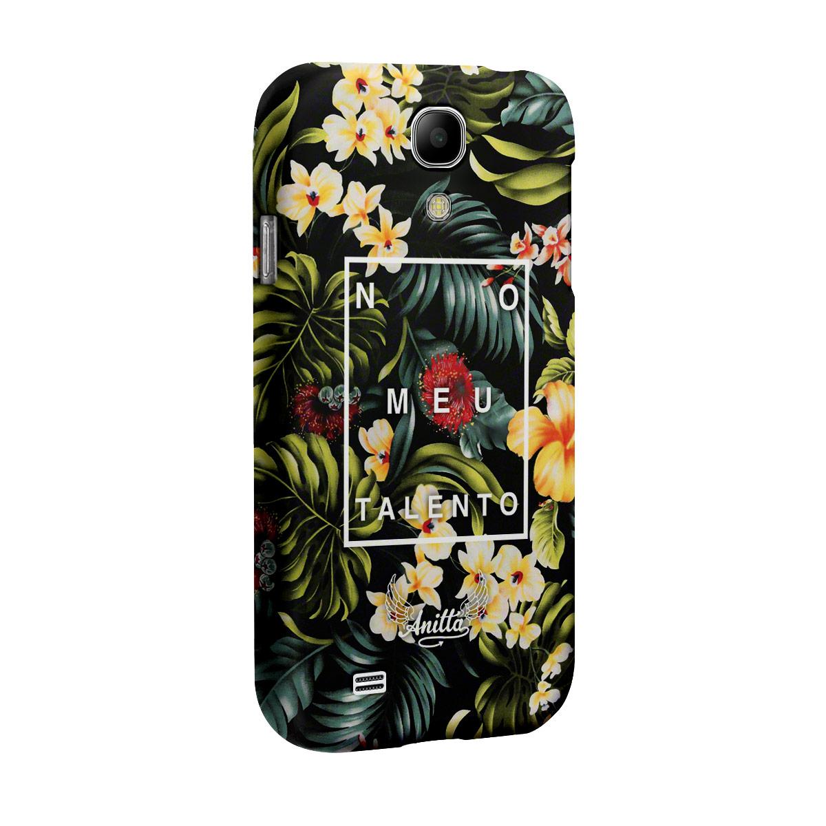 Capa para Samsung Galaxy S4 Anitta No Meu Talento Flowers