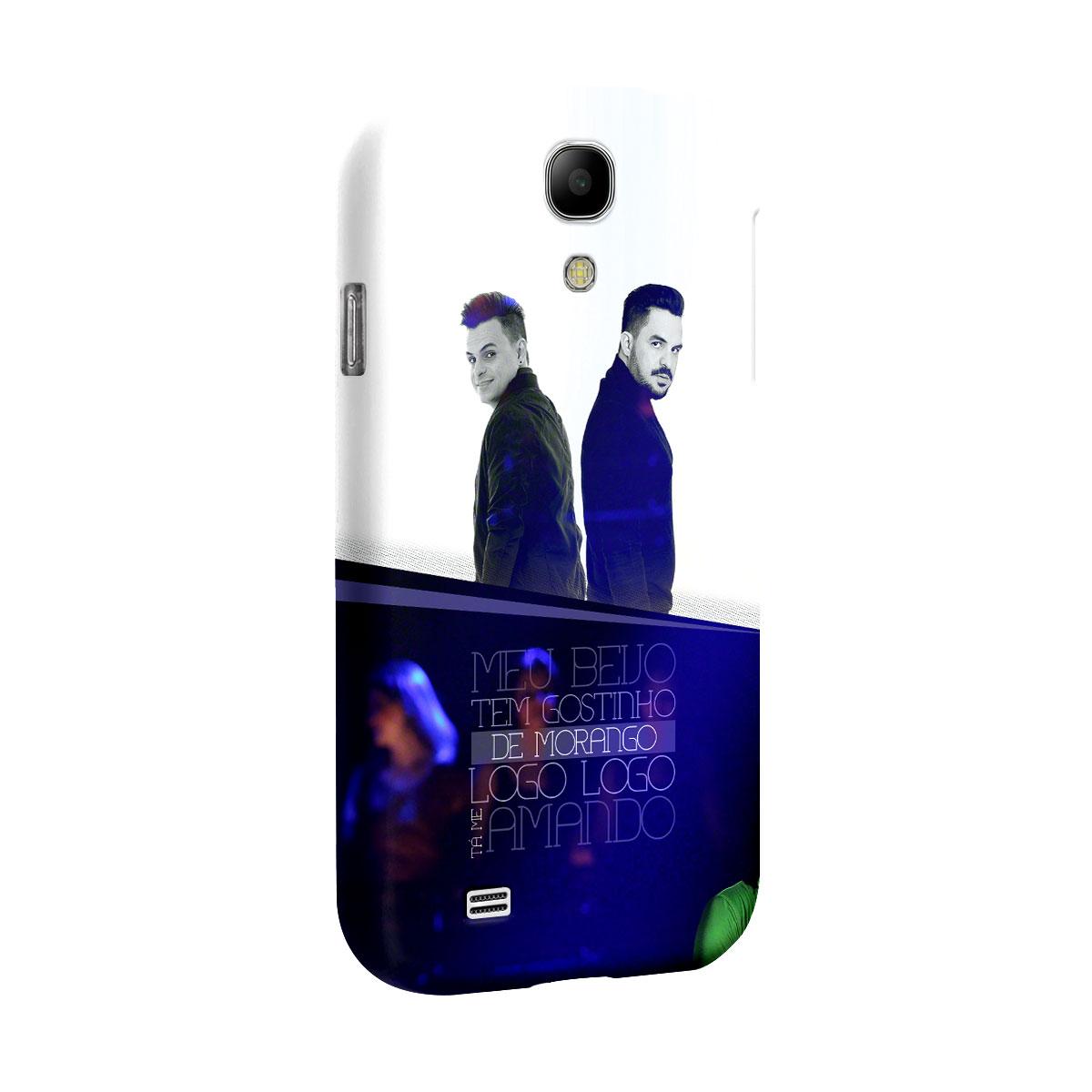 Capa para Samsung Galaxy S4 Carlos & Jader Meu Beijo