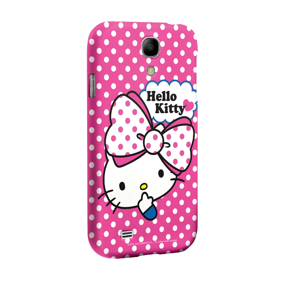 Capa para Samsung Galaxy S4 Hello Kitty Big Ribbon